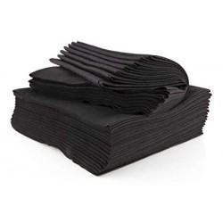 Toalla negra spun lace
