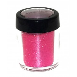 Glitter rosa fluor